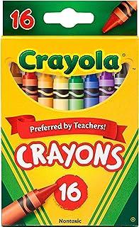 [ クレヨラ ] Crayola Classic Color Pack Crayons 16Colors [ 平行进口商品 ] , 16 Assorted Colors,Standard Box