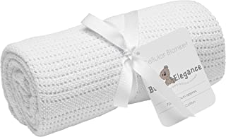 Baby Elegance Cellular Rolled Blanket (70 x 90 cm, White)