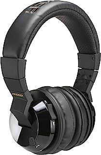 Kicker Tabor2 蓝牙耳机头戴式无线耳机,带麦克风,无源降噪,柔软舒适衬垫,超低音清晰高音。
