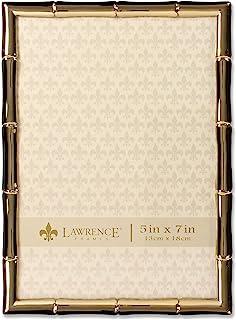 Lawrence Frames 5x7 金金属竹子设计相框