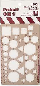 Pickett 等轴测六角螺母和头模板 7 Metric Pocket