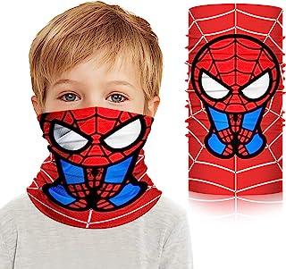儿童*英雄围脖,凉爽冰丝围巾头巾头巾 适用于户外灰尘