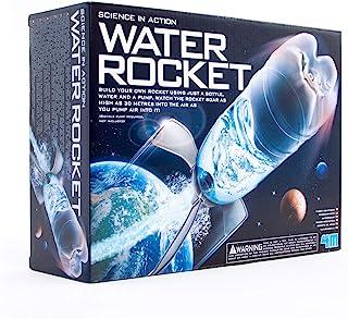 4M 4605 水火箭套件 - DIY 科学太空Stem玩具,适合儿童和青少年,男孩和女孩
