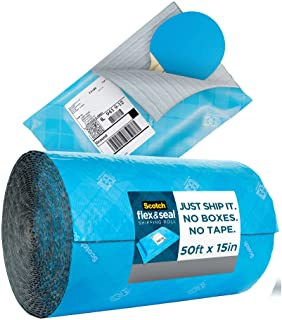Scotch Flex & Seal 运输卷,纸板盒、气泡袋、塑料袋、缓冲 50 Ft.