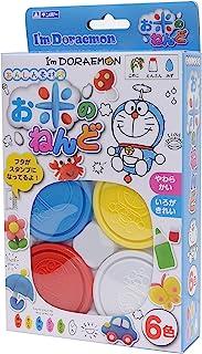 银鸟产业 GINPO 系列 I'm Doraemon 哆啦 A 梦 大米彩泥 6 色 ID-RD6ZF