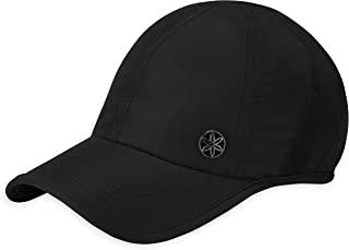 Gaiam 男女通用跑帽 - Odyssey 透气干式 | 吸湿防汗带 | 可调节搭配反光带和预成型帽 | 瑜伽、健身、网球、高尔夫(均码)