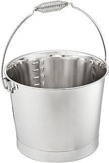 三叶草 18-8 水桶(冲压) 8升 带刻度 弹簧手柄