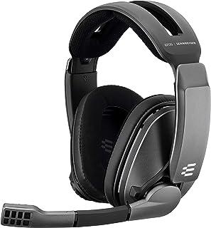 Sennheiser森海塞尔 无线游戏耳机 GSP370 低延迟、 电池寿命可达100小时、 简单麦克风静音功能