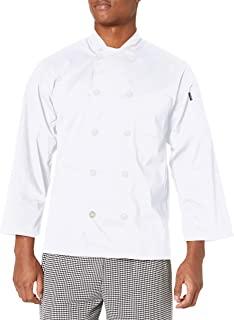 Chef Code 基本款男式珍珠纽扣长袖厨师服