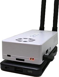 Stratux ADS-B 双频接收器航空天气和交通 - AHRS,迷彩电池组,吸附安装,内部 WAAS GPS,天线,SDR,前飞灯风扇带风扇的箱,iFlyQ,WingX4330257497 Black battery