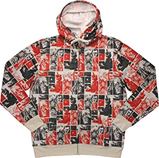 Marvel Portraits of Punisher Sublimated Fleece Hoodie