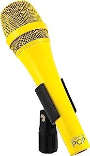 MXL Mics 优质动态手持式录音麦克风,黄色,LSM-9 POP