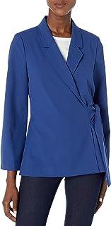 Chaus 女士七分袖侧系带夹克