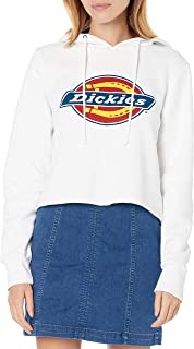Dickies 女童 Dickies 标志羊毛短款连帽衫