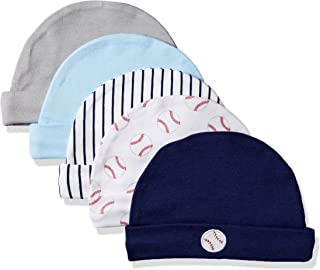 Luvable Friends 婴儿帽,5个装