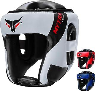 Mytra Fusion AD 头部护具拳击头盔 MMA 头护具武术头盔,用于保护和运输