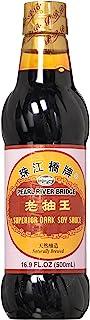 Soy Sauce, Pearl River Bridge Superior Dark ,16.9-Ounce Plastic Bottles