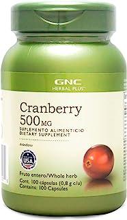 GNC 健安喜 蔓越莓胶囊100粒/瓶(进口)