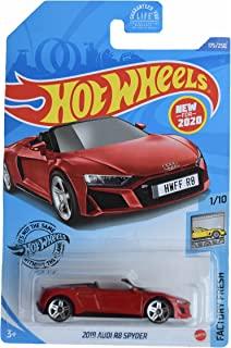 DieCast Hotwheels 2019 R8 Spyder,工厂新鲜 1/10 [红色] 175/250
