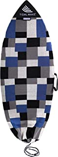 Tidal Wake TAG-IT 尖头 冲浪 & Wake Board 袜子袋 内置姓名标签,132.08-134.62 厘米,个性化定制您的名字!