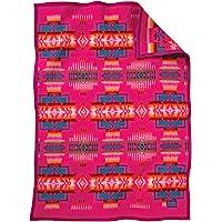 Pendleton Chief Joseph 婴儿床毯 樱桃色 均码