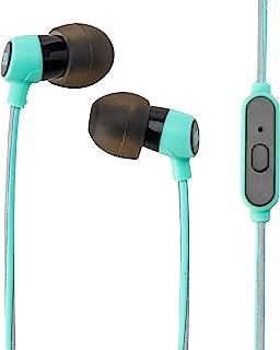 JBL Reflect 迷你入耳式耳机 3.5 毫米立体声有线防汗耳塞,带 1 个按钮遥控和麦克风