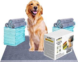 Croci 木炭小狗垫 XL 大号 61.92 x 81.66 厘米,气味控制碳狗训练垫可吸收多达 10 杯液体,6 层防漏和快干狗狗尿垫,一次性(40 片)
