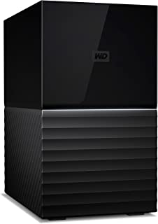 Western Digital 西部数据 WDBFBE0200JBK-EESN My Book Duo 桌面硬盘 20 TB,USB 3.0,256位AES硬件加密