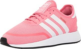 adidas 阿迪达斯 儿童 N-5923 J 运动鞋 Chalk Pink S, Ftwr White, Grey Three Fabric 6 Big Kid