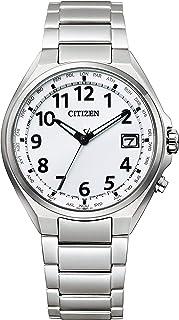 CITIZEN西铁城 腕表 Ateza 光动能驱动电波表 Direct Flight 阿拉伯数字款 CB1120-50B 男士 银色