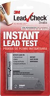 LeadCheck LC-2SDC 一次性非染色铅检测棉签,每包2盒