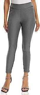 V VOCNI 女式长裤弹力修身套穿式正装裤