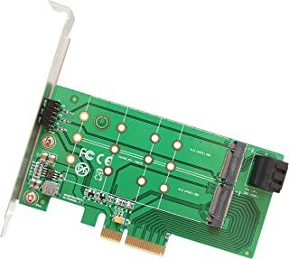 SYBA 2.5 英寸 SATA 到 mSATA SSD 适配器,用作外部 USB 2.0 存储设备 (SD-ADA40077) SI-PEX40124 M.2 to PCIe M.2 M-Key/B-Key