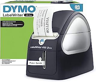 Dymo LabelWriter 450 Duo 标签机,黑色,银色