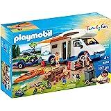 Playmobil 摩比世界 9318 趣味家庭露营冒险,适用于4岁以上儿童