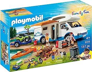 PLAYMOBIL 摩比世界 9318 - Family Fun,露营冒险,4岁以上[亚马逊]