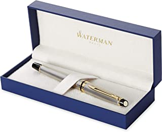 Waterman 威迪文 专家钢笔| 带23 k金饰不锈钢| 优质笔尖| 礼盒