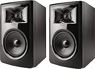 JBL Professional 306P MkII 下一代6英寸(约15.24厘米)2路有源演播室监听音箱(306PMKII),1对