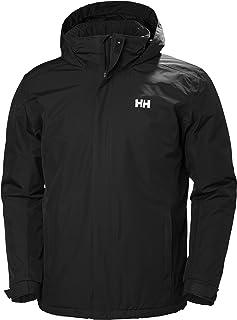 Helly Hansen 男式防水Dubliner 保暖夹克,寒冷天气可收纳兜帽