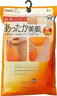 ATSUGI 连裤袜 自然舒适 发热连裤袜 伸缩发热 光发热 3双装 女士 FP10903P