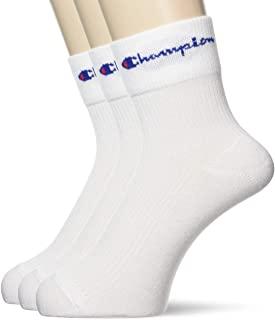 Champion 低圆领短袜 折边 3双装 CMSCR102 男士