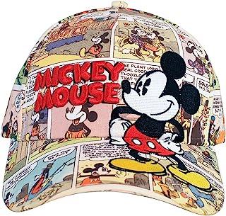 Disney Mickey Mouse 老漫画印花成人棒球帽