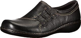 CLARKS Ashland Effie 女式一脚蹬乐福鞋