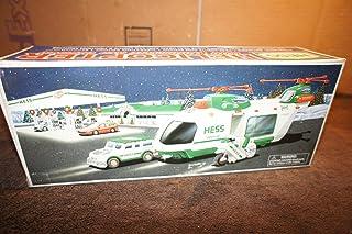 Hess 玩具车:带摩托车和巡洋舰的直升机,限量版 2001