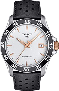 Tissot V8 Swissmatic - T1064072603100T106.407.26.031.00 Analog 皮革 银色 T1064072603100 watches