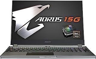 AORUS 15G (WB)高性能游戏笔记本电脑,15.6 英寸 FHD 240Hz IPS,GeForce RTX 2070 Max-Q,* 10 代 Intel i7-10875H,16GB DDR4,512GB NVMe SSD(AORU...