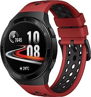 华为 Watch GT 2e - 带心率测量,音乐播放和蓝牙电话 - 5ATM 防水 55025280 GT 2e lava red