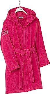 LACOSTE 鳄鱼 Fairplay 长袍,棉,洋红色,34英寸(约86.36厘米)长