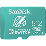 SanDisk microSDXC UHS-I卡,适用于 Nintendo Switch 512 GB - Ninten…