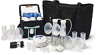 Ameda MYA Joy 双电动吸奶器加豪华配件,大手提袋和 Cool'N 携带牛奶存储袋,便携式轻便便携式吸奶器,*强度